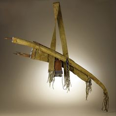 Kiowa bowcase and quiver, other side