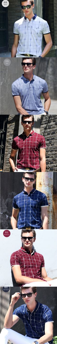new men's casual printing short-sleeved T-shirt Fashion Brand designer lattice Letters luxury T-shirt 016 classic LOGO