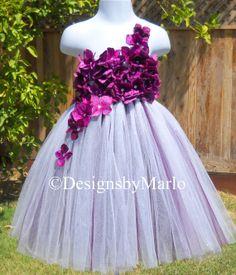 SALE!!! Pretty in purple tutu dress Glitter tutu flower girl dress 2T 3T Dark purple hydrangea tutu Pageant dress Birthday dress photo prop on Etsy, $49.50