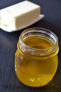 Ghee NO es mantequilla clarificada