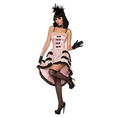 The Womens Rose The Can Can Dancer Pink Cancan Costume is the best 2019 Halloween costume for you to get! Everyone will love this Womens costume that you picked up from Wholesale Halloween Costumes! Dress Up Costumes, Adult Costumes, Costumes For Women, Movie Character Costumes, Western Costumes, Wholesale Halloween Costumes, Saloon Girls, Halloween Forum, Super Hero Costumes