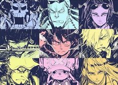 Straw Hat Crew, Mugiwara, Luffy, Sanji, Zoro, Chopper, Usopp, Brook, Franky…