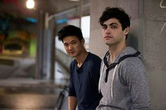 Harry Shum Jnr and Matthew Daddario #Shadowhunters #Malec