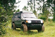 My 1995 Montero in its natural habitat. #Mitsubishi #lancer #Evo #Outlander #car #pajero