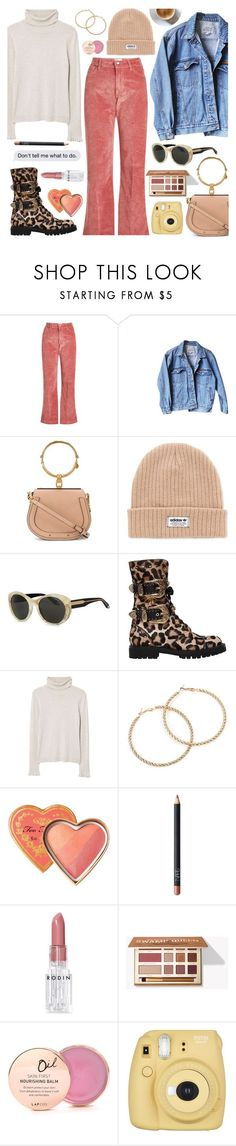 """""""Cold Blooded 8-12-2017"""" by anamarija00 ❤ liked on Polyvore featuring The Seafarer, Levi's, Chloé, adidas, Victoria Beckham, FAUSTO PUGLISI, MANGO, Too Faced Cosmetics, NARS Cosmetics and Rodin"""