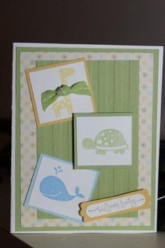 Baby's Friends by kookies - Cards and Paper Crafts at Splitcoaststampers