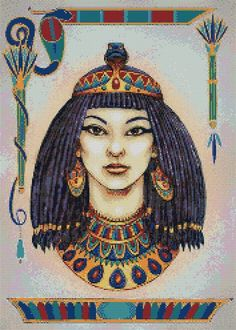 EGYPTIAN QUEEN - CROSS STITCH KIT