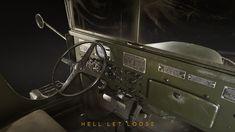 ArtStation - GMC - Hell Let Loose, Martin Ostrolucky