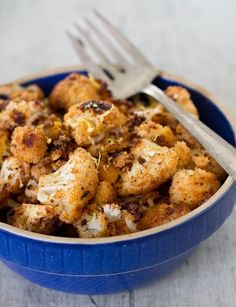 Spiced & Roasted Cauliflower ~ Another example of the amazing flavor that comes out when cauliflower is roasted!