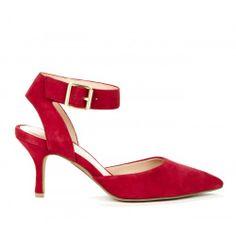 Olyvia DOrsay heel - Radiant Ruby