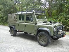 LHD Land Rover Crew Cab 130 sel did not last long on eBay ...