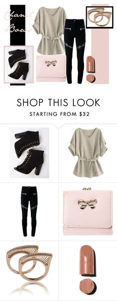 """Chanel Bows"" by arlette-00-98 ❤ liked on Polyvore featuring Givenchy"