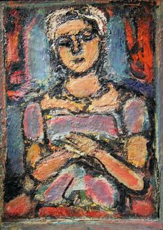 the-unknown-friend:    Little Peasant Girl,by Georges Rouault