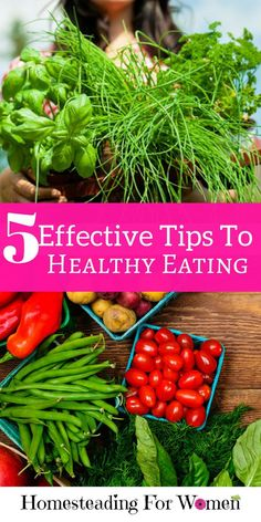 5 Effective Tips To Healthy Eating with these simple meal planning tricks.