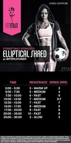 Elliptical  Workout | Posted by NewHowToLoseBellyFat.com