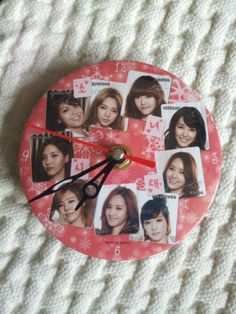 $14 Girls' Generation SNSD K Pop Collection Very Cute Desk Clock | eBay