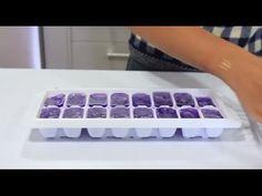 Hielos mágicos de colores - Diversión para los niños Cube, Tray, Appetizers, Recipes, Diners, Ice, Pictures, Colors, Trays
