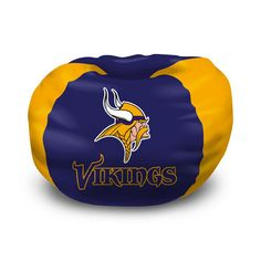 "MemorabiliaConnection.com - Northwest Minnesota Vikings NFL Team Bean Bag (96 Round)"", $48.75 (http://www.memorabiliaconnection.com/northwest-minnesota-vikings-nfl-team-bean-bag-96-round/)"