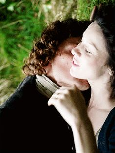 #Outlander, Jamie & Claire making love, definitely the best sex on TV ever ................................................