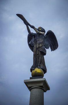 The Angel of Užupis, Užupio Respublika, Vilnius, Lithuania