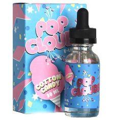Cotton Candy – Pop Clouds E-liquid - Modern