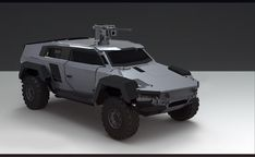 ArtStation - Vehicle sketches for PlanetSide 2, Sam Brown