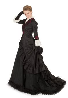 Isabella Victorian Polonaise Ensemble By Recollections  Slim Silhouette e325ed011c7e