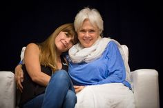Byron Katie with her daughter roxann