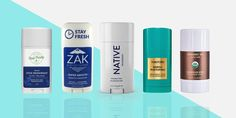 Banish body odor the natural way with these five natural deodorants.