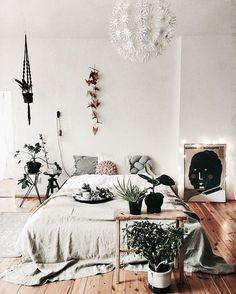 Home Decoration Ideas: Beautiful Boho Bedroom Inspiration.