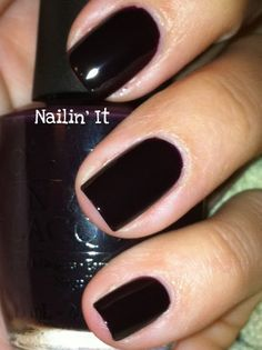 OPI Lincoln Park After Dark NL W42 / Opi Chicago Collection Fall 2005  ***