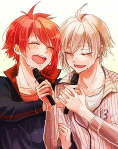 Riku and Tenn Manga Art, Anime Art, Love Twins, Anime Songs, Pokemon, Hot Anime Guys, Me Me Me Anime, Anime Couples, Cute Boys