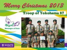 Christmas Greeting from Yokohama 87 Troop of Japan.