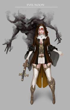 Evil noon, Bangku An on ArtStation at https://www.artstation.com/artwork/xmvyX?utm_campaign=digest&utm_medium=email&utm_source=email_digest_mailer