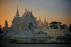 Wat Rong Khun - White Temple, Chiang Rai, Thailand  by Anton Krasheninnikov https://www.facebook.com/144196109068278/photos/a.168988406589048.1073741825.144196109068278/263553177132570/?type=3&theater