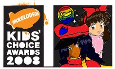 Nickelodeon Kids Choice Awards 2008 Logo part 2