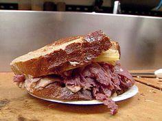 Zingerman's Reuben Sandwich from FoodNetwork.com