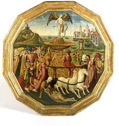 The Triumph of Love | Apollonio di Giovanni | V ca 1460-1470  some nice views of clothing here