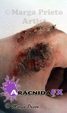 Maquillaje fx , heridas, contusiones, cortes... #sfxmakeup #fxmakeup https://www.facebook.com/aracnidafx/ https://www.instagram.com/aracnidafx/ https://www.pinterest.com/arcnidafx/