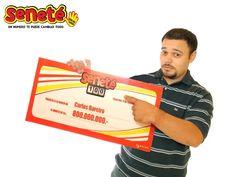 #Tbt Carlos Bareiro de la ciudad de Luque, se convirtió en el millonario N° 36 habiendo ganado en el sorteo de aquel 28/01/2007, nada más y nada menos que la millonaria suma de Gs. 800.000.000.-  Con #Seneté ¡Un número le cambió todo a Carlos!