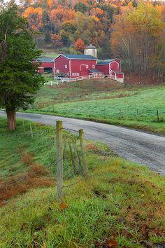 New print available on fineartamerica.com! - 'New England Farm' by Bill  Wakeley -
