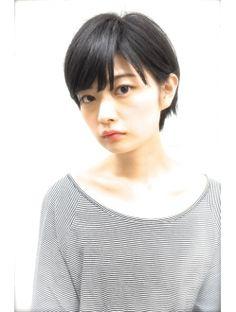 【PHASE・石田康博】黒髪でも可愛いくなるショートボブ!!