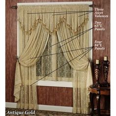 victorian+window+treatments   Victorian Window Treatments   Overview Details Sizes Swatch Reviews