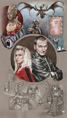 WIP 5 Doctor Who series 1 by *scotty309 on deviantART