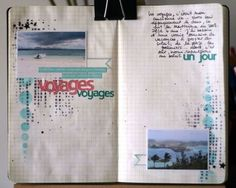 Photo/writing journal to make for a favorite vacation. Great way to give extra details!