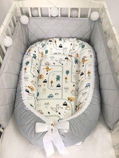 Baby nest voor een pasgeboren baby, baby nest slaper, baby douchegift voor een baby, baby Cocoon bed, Co Sleeper Baby Nest Pattern, Usa Baby, Baby Baby, Snuggle Nest, Baby Nest Bed, Baby Door, Baby Cocoon, Baby Smiles, Dream Baby