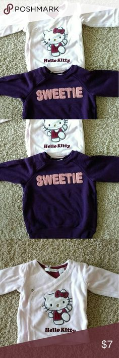 2 baby girl jackets H&M 2 baby girl jackets H&M Pink one - size not stated but app 0-3 months Purple one - size 4 -6 months Nice and comfortable material No major damage or stains, only normal wear Price reflects condition, style and age Pet-free, smoke-free home H&M Shirts & Tops Sweatshirts & Hoodies