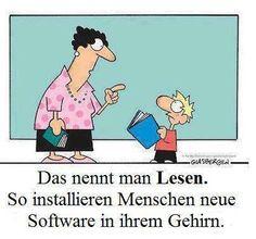 Lesen: Installation neuer Software