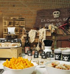 Rustic Pirate Birthday Party {guest feature} - Celebrations at Home
