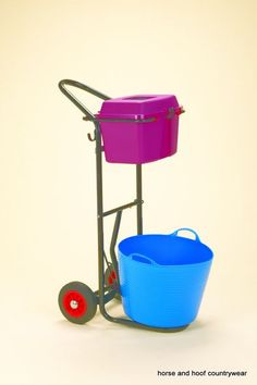 Instantly changeable from tackbox and saddle/ bridle trolley, to manager cart…